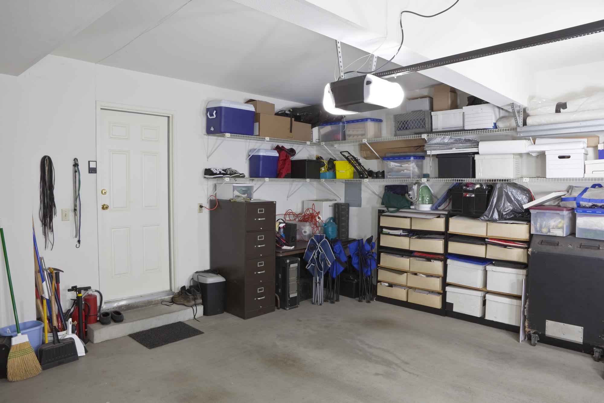 How to Prevent a Garage Door Break In